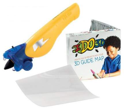 3D ручка REDWOOD 3D Вертикаль, Животные, желтый
