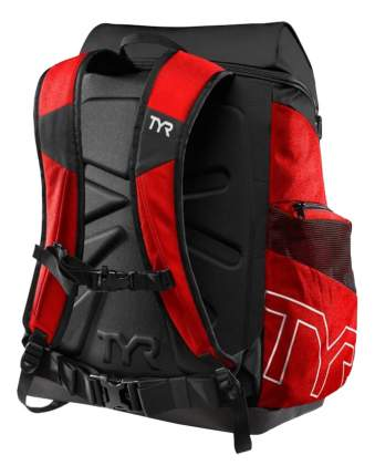 Рюкзак для плавания TYR Alliance LATBP45 45 л красный/черный (640)