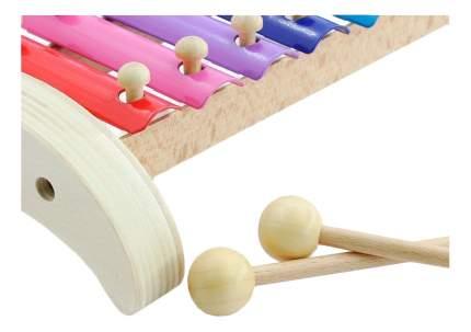 Ксилофон игрушечный Мир Деревянных Игрушек Ксилофон 12 тонов