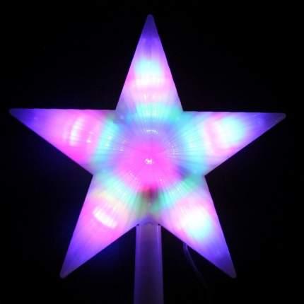 Верхушка для ели Snowhouse Звезда 22 см разноцветная