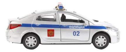 Машина спецслужбы Технопарк Hyundai Solaris Полиция