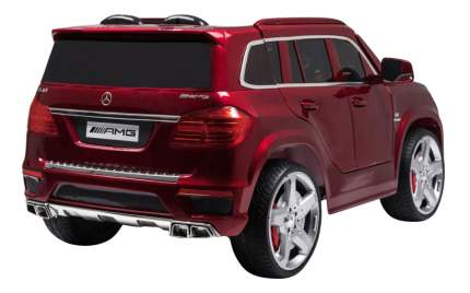 Электромобиль Mercedes-Benz GL63 вишневый глянец RIVERTOYS