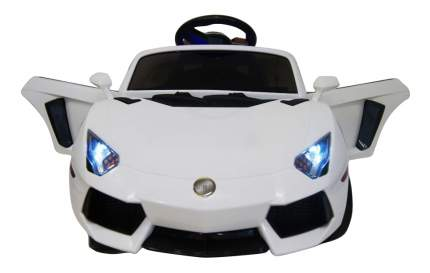 Электромобиль Lambo белый RIVERTOYS