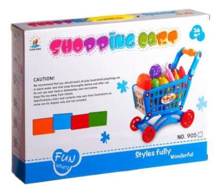 Игровой набор Shopping Cart тТележка с овощами Shenzhen Toys Д40001