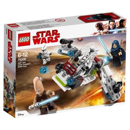 Конструктор LEGO Star Wars Боевой набор джедаев и клонов-пехотинцев 75206