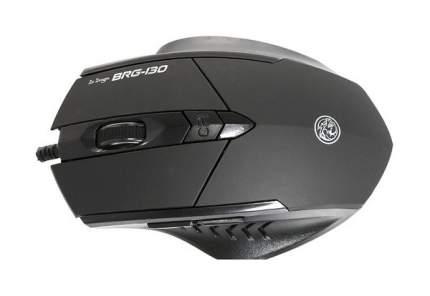 Проводная мышка MARVO BRG-130 Black