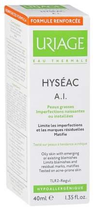 Эмульсия Uriage Hyseac A.I. противовоспалительный уход для жирной проблемной кожи, 40 мл