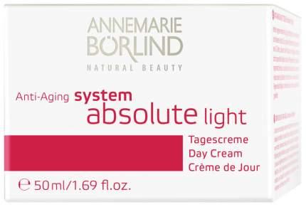 Крем для лица Annemarie Borlind System Absolute light 50 мл