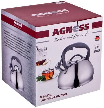 Чайник для плиты Agness 937-618 3 л