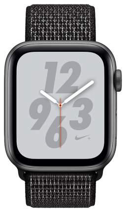 Смарт-часы Apple Watch Series 4 Nike+ 40mm Space Gray Al/Black Nike Sport Loop (MU7G2RU/A)