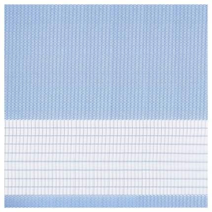 Рулонная штора Эскар День-Ночь 170х98 цвет голубой