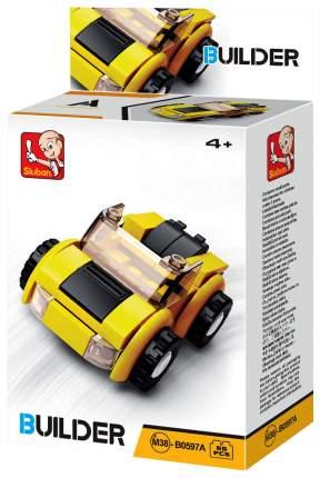 Конструктор пластиковый Sluban Builder Машинка M38-B0597A