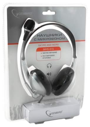 Игровые наушники Gembird MHS-615 Silver/Black