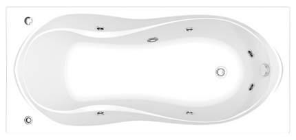 Акриловая ванна BAS Ямайка 180х80 c гидромассажем FLAT