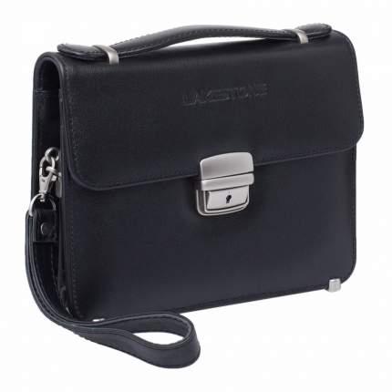 Портфель мужской кожаный Lakestone Foxcote черный