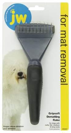 Колтунорезка для собак JW горизонтальный черный