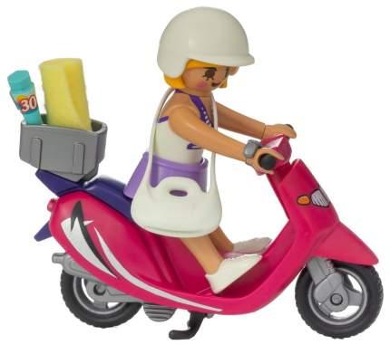 Игровой набор Playmobil Экстра-набор:Посетитель пляжа со скутером