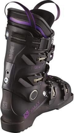 Горнолыжные ботинки Salomon X Max 120 2018, metablack/black/purple, 27.5