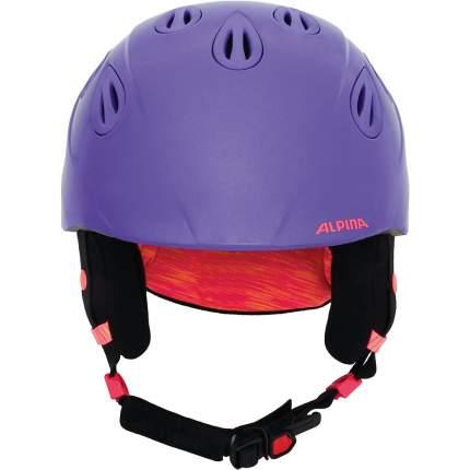 Горнолыжный шлем Alpina Grap 2.0 JR 2019, фиолетовый, S