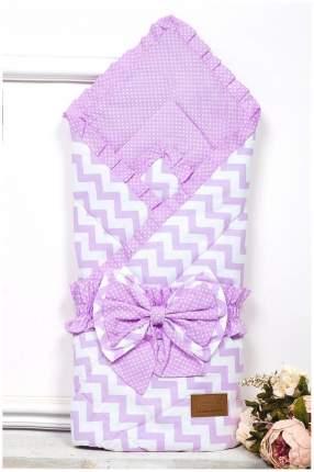 Одеяло на выписку AmaroBaby Zig Zag розовый