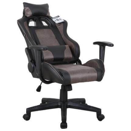 Игровое кресло Brabix GT Racer GM-100 531819, черный/коричневый