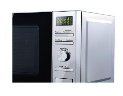 Микроволновая печь соло Centek CT-1586 Silver