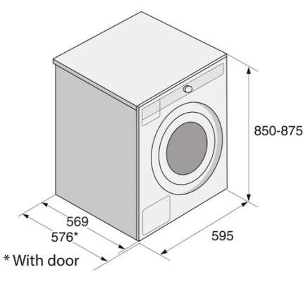 Стиральная машина ASKO W6098X.S/1 WM75.289B5