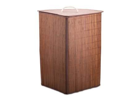 Корзина для белья ATTRIBUTE Бамбук угловая 37 х 58 см