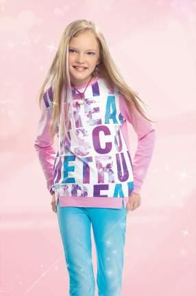 Джемпер для девочки Pelican GFN4014 Розовый р.116