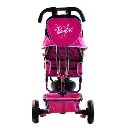 Велосипед-коляска трехколесный Barbie розовый HB7PS