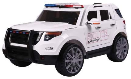 Радиоуправляемый детcкий электромобиль Jiajia Ford Explorer Police 12V 2.4G Белый