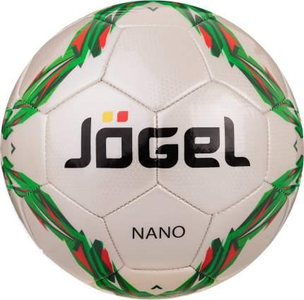 Футбольный мяч Jogel JS-210 Nano №5 white/green