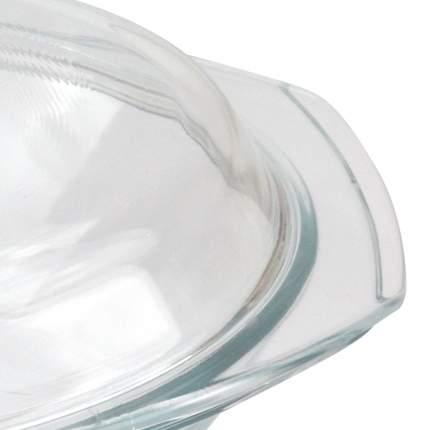 Форма стеклянная с крышкой круглая 3л