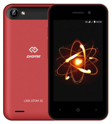 Смартфон Digma Linx Atom 3G 4Gb Red