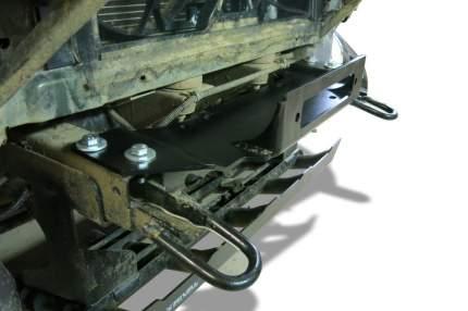 Кронштейн лебедки в штатный бампер Rival УАЗ Patriot I (V - 2.7) 2005-, L.6302.1