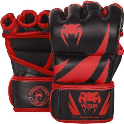 Перчатки ММА Venum Challenger Neo Black/Red, L/XL