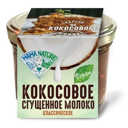 Сгущенное молоко Mama Nature кокосовое вареное 220 г