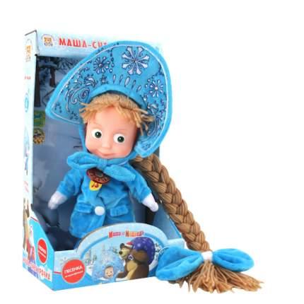 Мягкая игрушка Мульти-Пульти Маша-снегурочка, пласт.лицо (м/ф маша и медведь) 12 шт.