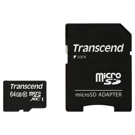 Карта памяти Transcend Micro SDXC Premium TS64GUSDXC10 64GB