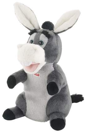 Мягкая игрушка Trudi на руку Ослик, 25 см