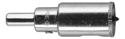 Алмазная коронка по керамограниту/стеклу для дрелей, шуруповертов Зубр 29850-20