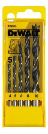 Набор сверл по дереву для дрелей, шуруповертов DeWALT DT4535-QZ