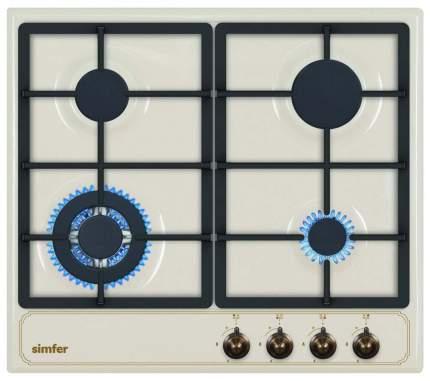 Встраиваемая варочная панель газовая Simfer H60V41O511 Beige