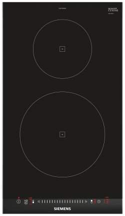 Встраиваемая варочная панель индукционная Siemens EH375FBB1E Black