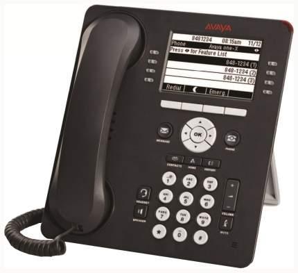 IP-телефон Avaya 9611G черно-серый 700504845