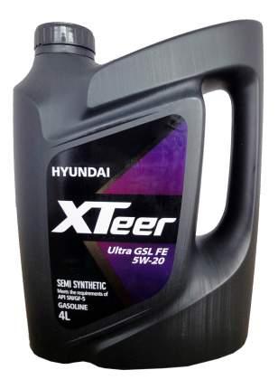 Моторное масло Hyundai XTeer Gasoline Ultra Efficiency 5W-20 4л