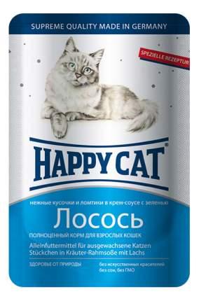 Влажный корм для кошек Happy Cat, с лососем в соусе, 22шт по 100г