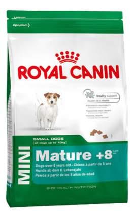 Сухой корм для собак ROYAL CANIN Adult 8+ Mini, рис, птица, 2кг