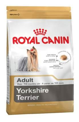 Сухой корм для собак ROYAL CANIN Yorkshire Terrier Adult, птица, 3кг