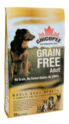 Сухой корм для собак Chicopee Adult Dog Grain Free, беззерновой, курица, 12кг